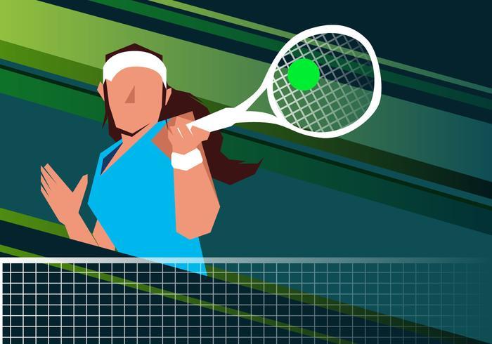 Nettoyage du terrain de tennis