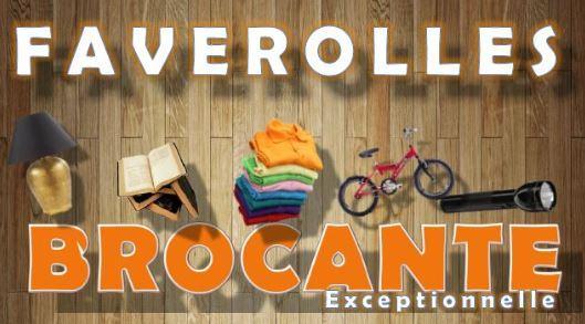 Brocante Exceptionnelle à Faverolles le 12 septembre