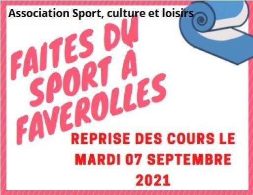 Sport Culture Loisir – reprise du sport